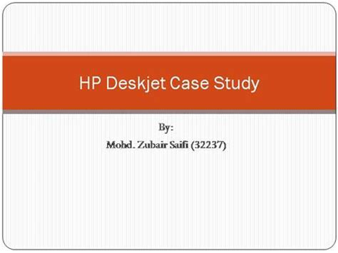 Research case study ppt